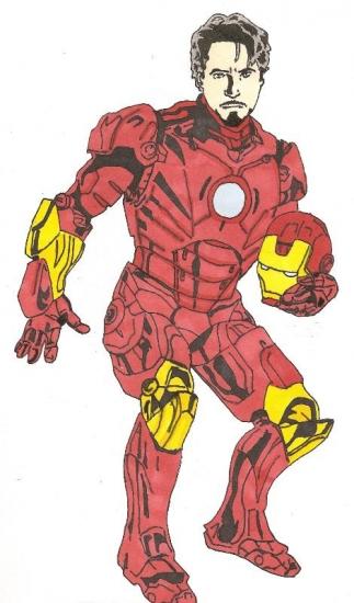 Robert Downey Jr by thomas